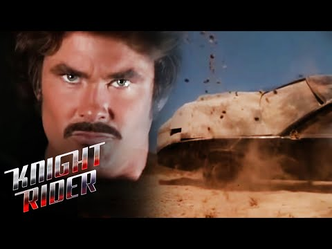 Goliath leaves KITT in the dirt | Knight Rider - VidVui