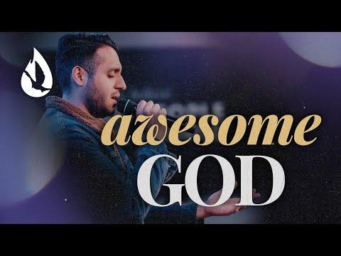 Awesome God (with Lyrics)  Worship Cover by Steven Moctezuma