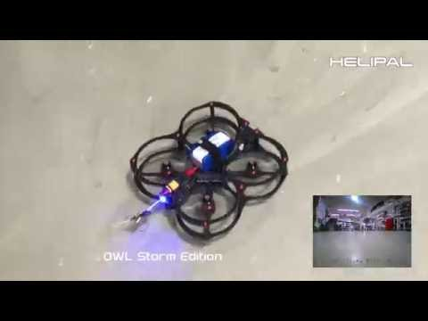 FlexRC OWL Storm Edition FPV Racer - HeliPal.com - UCGrIvupoLcFCW3CIKvfNfow