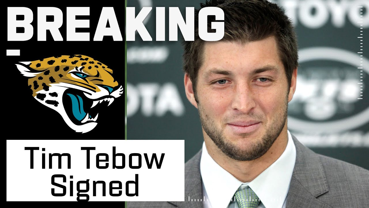 BREAKING: Jaguars Expected to Sign Tim Tebow
