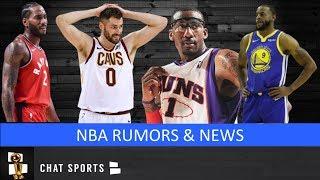 NBA Free Agency Rumors: Kawhi Leonard Latest & Trade Rumors On Kevin Love & Andre Iguodala