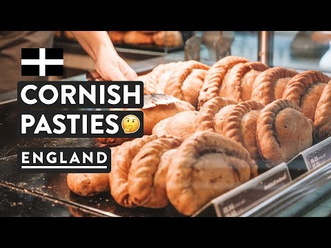 Our Fav Spot in England | ST IVES & CORNISH PASTIES | English Food | Travel Vlog