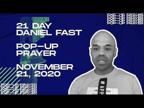 Pop-up Prayer - November 21, 2020 - Bishop Kevin Foreman