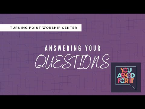 Online Bible Study : Answering Your Questions