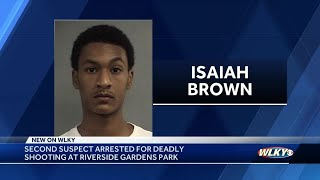 Second suspect arrested in connection with deadly shooting at Riverside Gardens Park