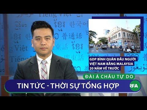 Tin nóng 24h 31/01/2019 | GDP bình quân đầu người Việt Nam bằng Malaysia 20 năm trước