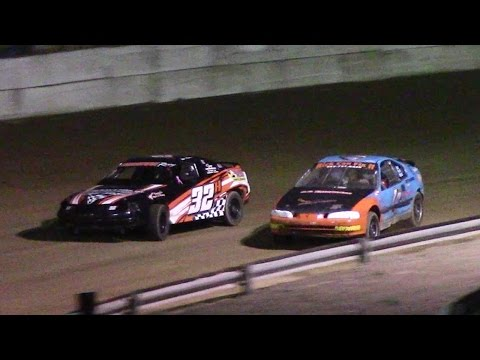 Mini Stock Feature | Freedom Motorsports Park | 5-19-17 - dirt track racing video image