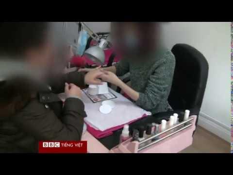 Người Việt làm nail bị bắt ở Anh
