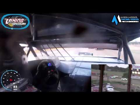 #10 Justin Vogel WISSOTA Street Stock On-Board @ Alexandria (6/26/21) - dirt track racing video image