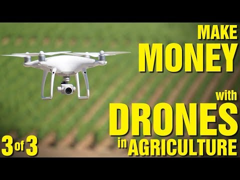 Make Money with Drones in Agriculture (Part 3 of 3) - UC7he88s5y9vM3VlRriggs7A