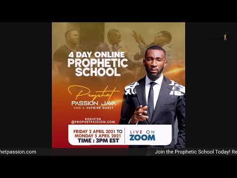 Prophetic Thursday's with Prophet Passion Java!!