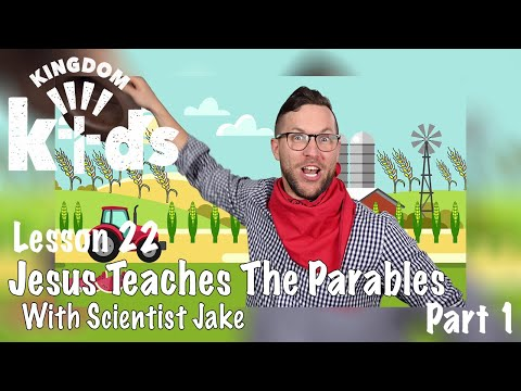 Jesus Teaches The Parables: Sowing Seed   Sojourn Kingdom Kid's  Sunday Morning Lesson