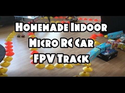 Homemade Indoor Micro RC Car FPV Track  Feat. The Eachine TX03 (BANGGOOD) - UCU33TAvzA-wgPMgcrdMVIdg