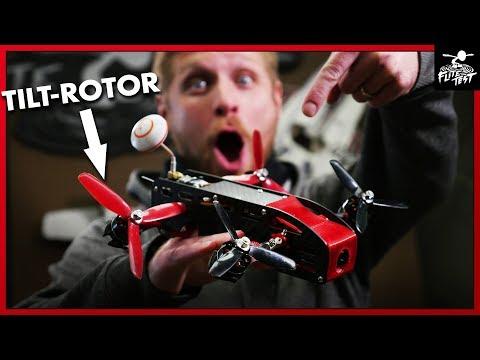 LEVEL FLYING QUAD - AimDroix Xray Tilt-Rotor | FLITE TEST - UC9zTuyWffK9ckEz1216noAw