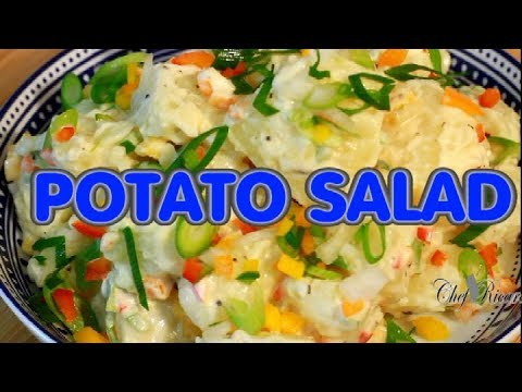 Stop!! How To Make The Best Ever Potato Salad ! Jamaica Way | Recipes By Chef Ricardo - UCj-EV6097dZah_wlbnHEzlA