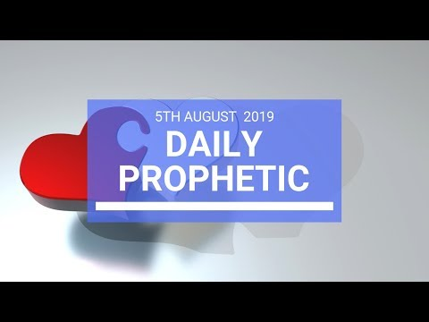 Daily Prophetic 5 August 2019   Word 2