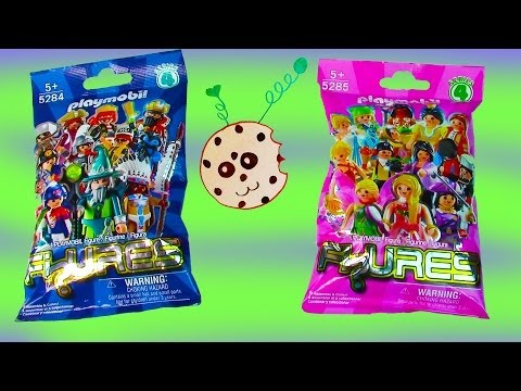 Playmobil Blind Bag Opening Series 4 Mystery Surprise Packs Girls Boys Collection Set toy Review - UCelMeixAOTs2OQAAi9wU8-g