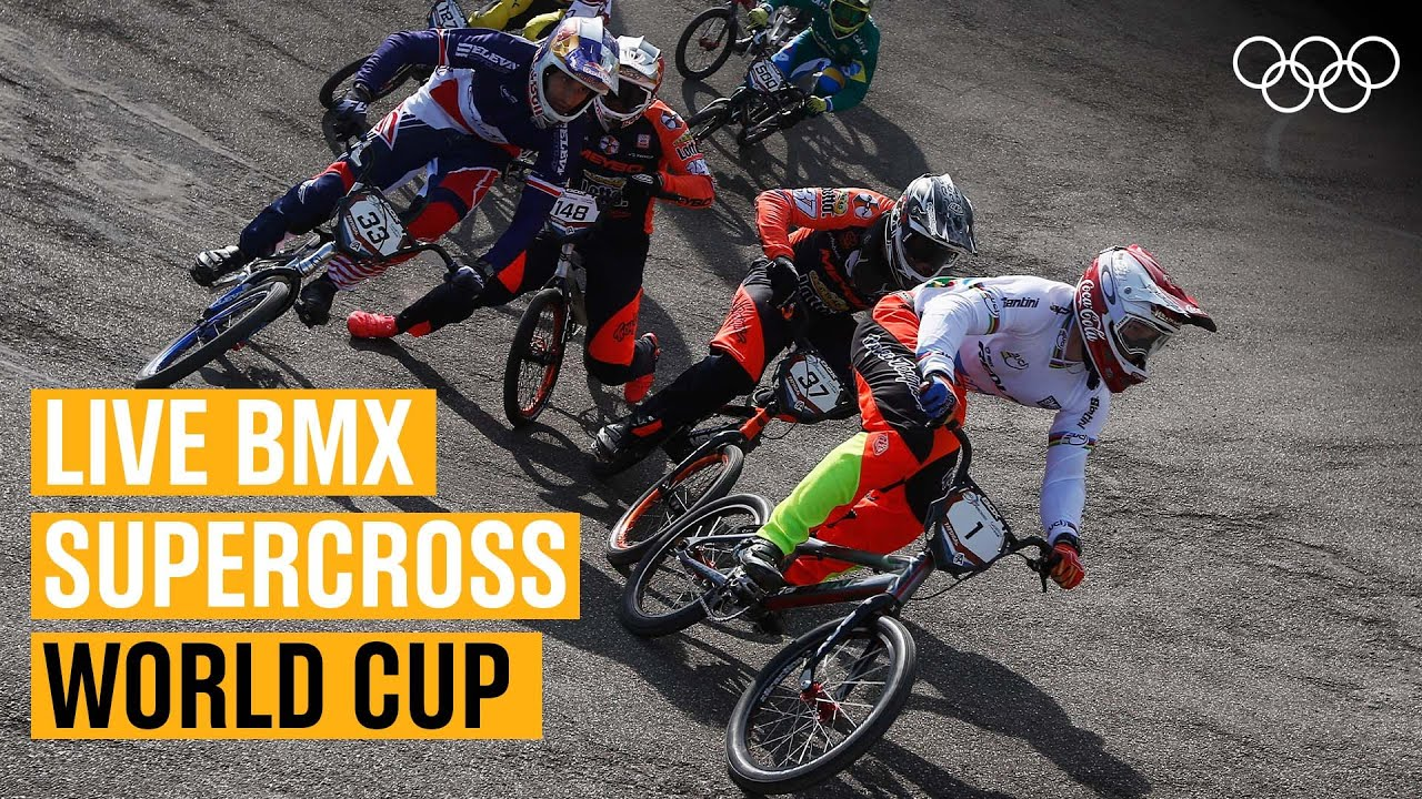 LIVE BMX action from the Supercross World Cup! 🚴| Round 8