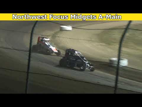 2021 Fred Brownfield Classic, Night 2, Northwest Focus Midgets Series A-Main - dirt track racing video image