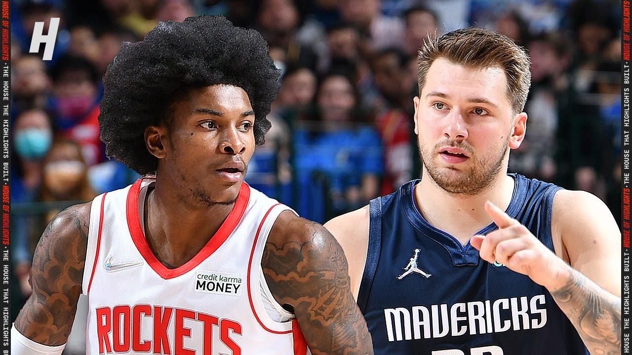 Houston Rockets vs Dallas Mavericks – Full Game Highlights | October 26, 2021 | 2021-22 NBA Season