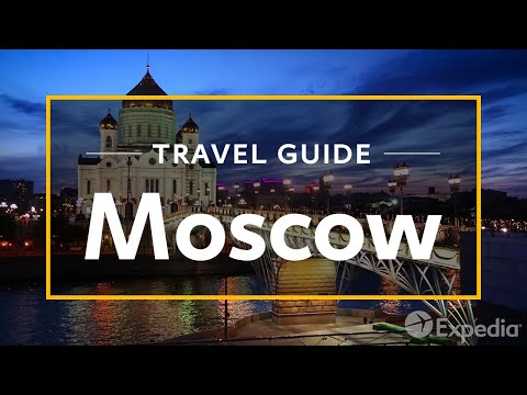 Moscow Vacation Travel Guide | Expedia | AudioMania lt
