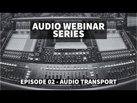 Audio Transport ft Ricki Cook, Justin Arthur and Andrew Crawford - Audio Webinar #2