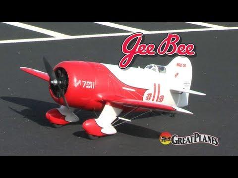 Spotlight: Great Planes Gee Bee Tx-R - UCa9C6n0jPnndOL9IXJya_oQ