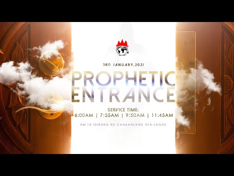DOMI STREAM : PROPHETIC ENTRANCE SERVICE  3, JANUARY 2021  FAITH TABERNACLE OTA