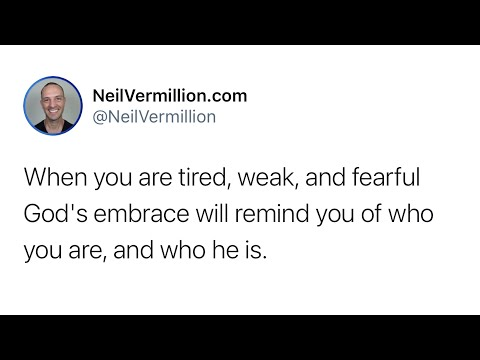 In My Embrace You Will Remember Me - Daily Prophetic Word
