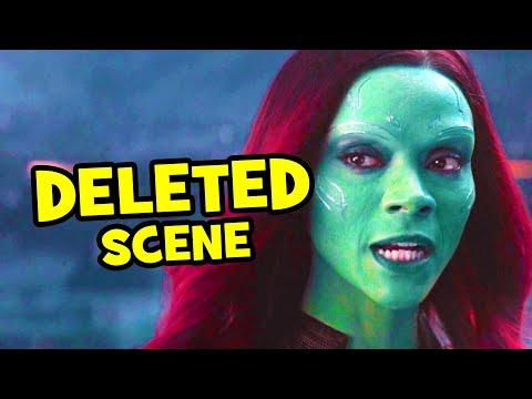 Avengers Infinity War DELETED SCENE Thanos & Gamora + Breakdown - UCS5C4dC1Vc3EzgeDO-Wu3Mg