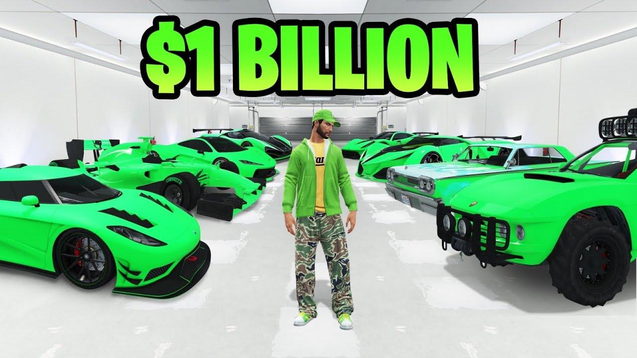 This GTA 5 Garage Is Worth ONE BILLION Dollars…