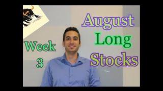 3 Stocks To Buy August 2019(Week 3)