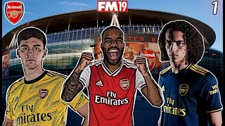 FM19 Arsenal Save with UPDATED TRANSFERS #1! - FM20 DATABASE! NEW PLAYERS, NEW KITS ... NEW MANAGER.