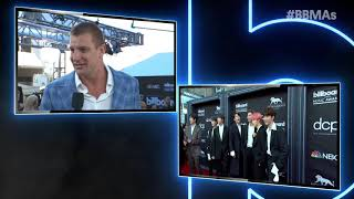Rob Gronkowski Red Carpet Interview - BBMAs 2019