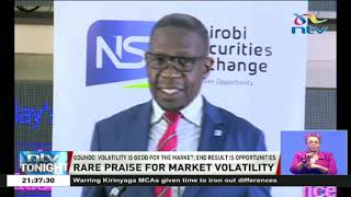 Market volatility should not be perceived as negative phenomena - NSE CEO