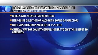 Cascade County commissioner elected as National Association of Counties west region representative