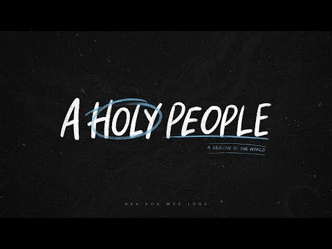 English Service   A Beacon to the World: A Holy People