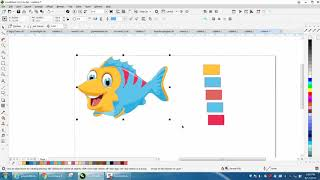 Corel Draw Tips & Tricks Get Colors from your new Document and make a palette