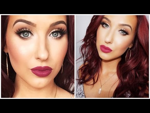 Bright Eyes + Bold Lips - Makeup Look For Small / Tired Eyes | Jaclyn Hill - UC6jgzx2g3nlbaYkd8EMweKA