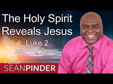 LUKE 2 - THE HOLY SPIRIT REVEALS JESUS - MORNING PRAYER (video)
