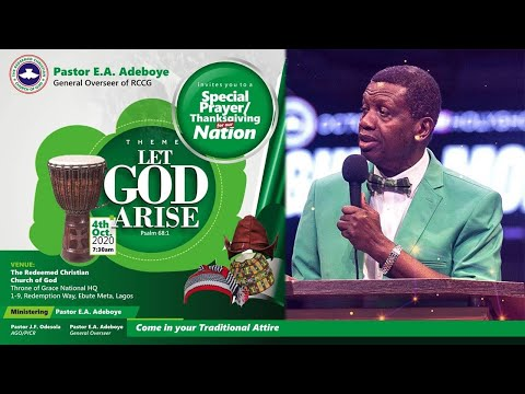 PASTOR E.A ADEBOYE SERMON - LET GOD ARISE