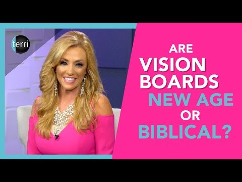 Are Vision Boards New Age or Biblical?