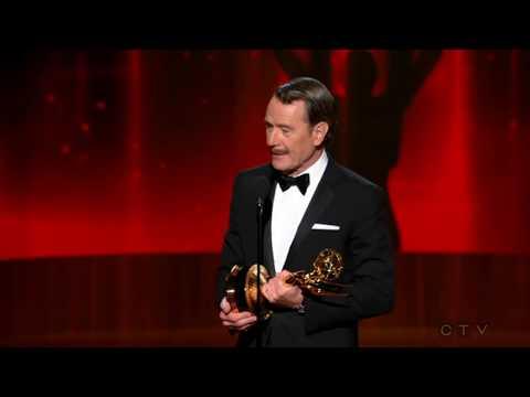"Bryan Cranston wins an Emmy for ""Breaking Bad"" 2014 - UCuFuPMi7Cl3uIfFkUz4LTWw"