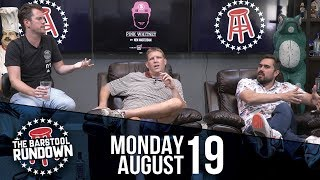 Raiders Finally Get Antonio Brown to Practice - August 19, 2019 - Barstool Rundown