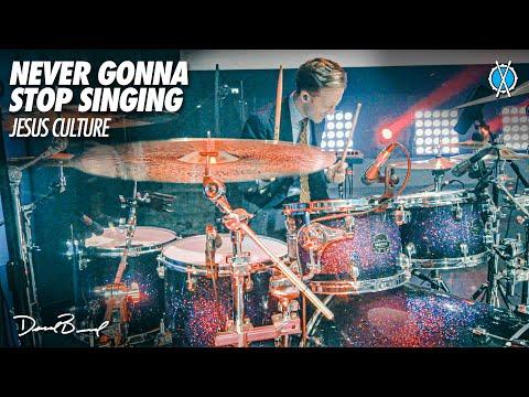 Never Gonna Stop Singing Drum Cover // Jesus Culture // Daniel Bernard