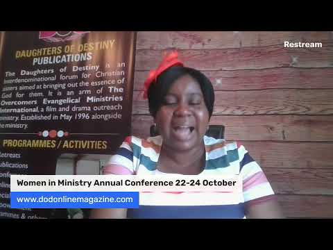 WOMEN IN MINISTRY 27/08/2020- OPERATING IN HIGHER LEVEL IN MINISTRY