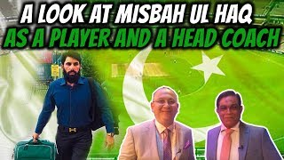 A look at Misbah Ul Haq as a player and a head coach   Caught Behind