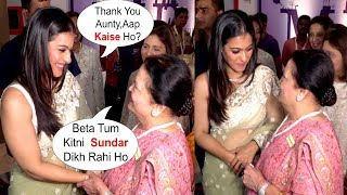 Kajol BONDING With Mukesh Ambani Mother At IMC Ladies Event 2019