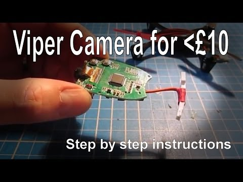 Hubsan X4 - Making a video camera for less than £10 - UCp1vASX-fg959vRc1xowqpw
