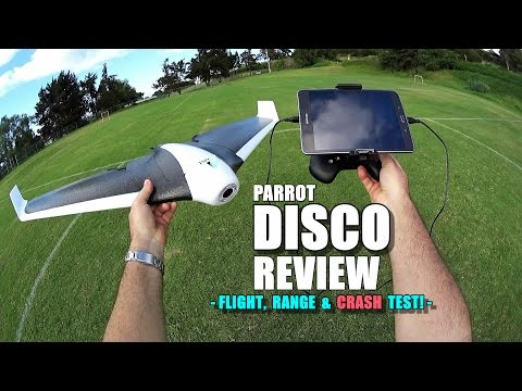PARROT DISCO Review - [Flight/Crash/Range Test!, Pros & Cons] - UCVQWy-DTLpRqnuA17WZkjRQ